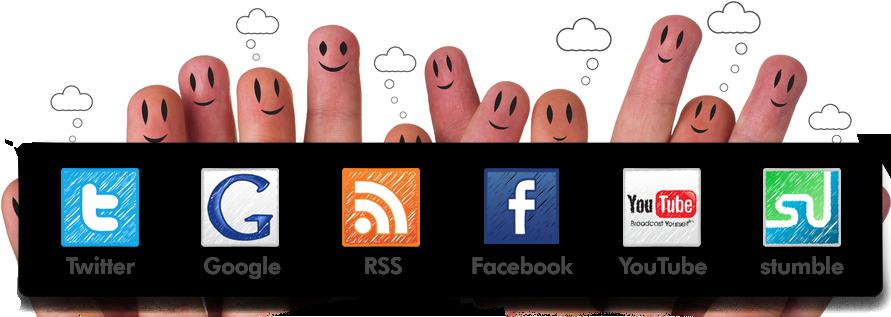 Facebook ve Twitter' da Yükselin